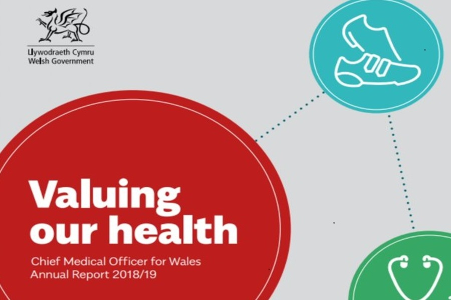 NCPHWR research features in the Chief Medical Officer for Wales' Annual Report