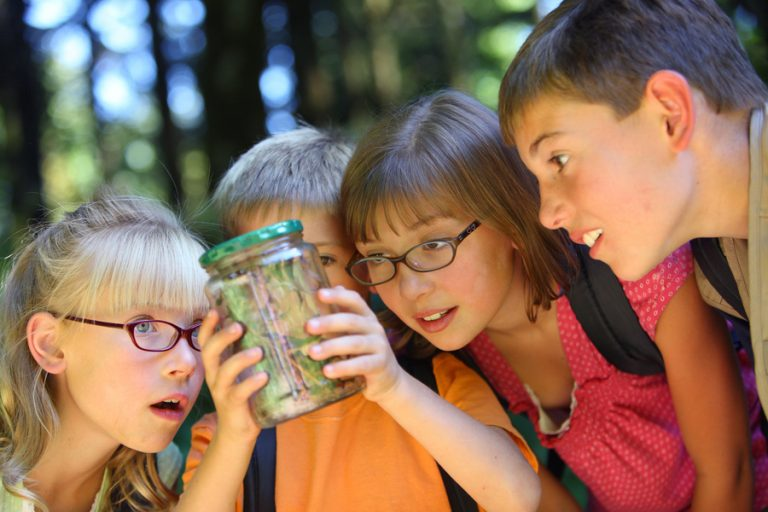 What are the benefits of curriculum-based outdoor learning for children aged 9-11?