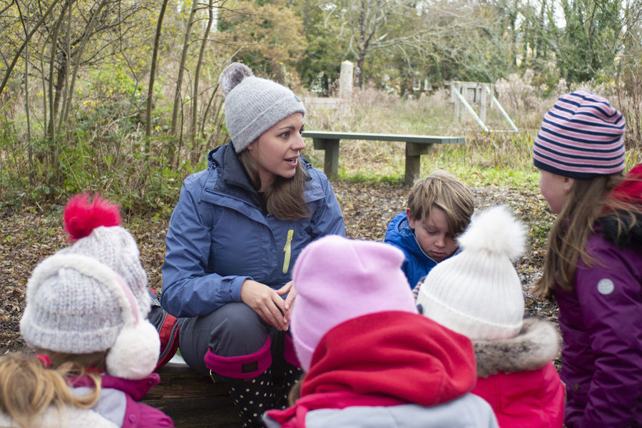 Outdoor learning is good for pupils and teachers