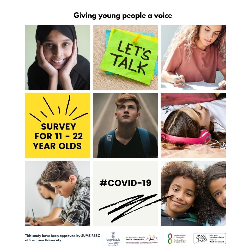 Centre launches survey for young people as part of UK wide research to understand the challenges of the pandemic